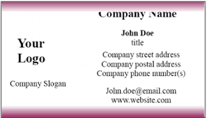 buisness card template word business card template word blank business card template microsoft word