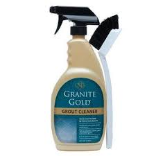 grout cleaner with brush