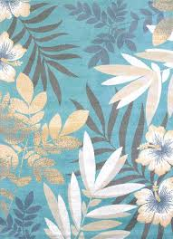 tropical area rug delectably modern textures blue sea garden tropical rug collection by united weavers tropical