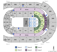 Accurate Budweiser Gardens Seating Chart Rows Budweiser