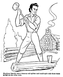 Small Picture Coloring Pages for Kids American History