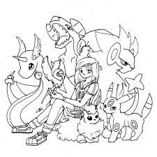 Disegni Da Colorare Pokemon Rubino Omega Fredrotgans