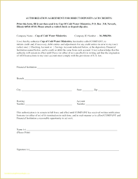 Direct Deposit Form Template How To Fill Out A Direct Deposit Form Authorization Form Template