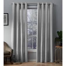 Gray and beige curtains Curtain Panel Quickview Wayfair Gray Textured Curtains Wayfair