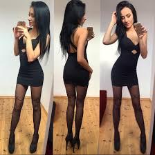 Selfie en sensual vestido negro https goo.gl n8AnbP Selfie.