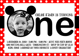 mickey mouse first birthday invitations net uncategorized page of mickey mouse invitations templates birthday invitations