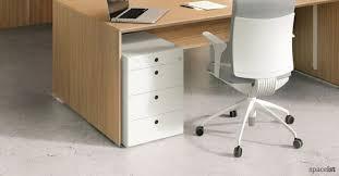 office desk with storage. 45 White Under Desk Storage Office With