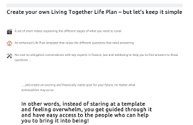 Create A Life Plan To Protect Your Relationship - Living Together ...
