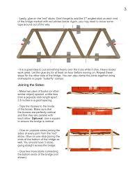 Popsicle Stick Bridge Designs Popsicle Bridge Plans Garretts Bridges