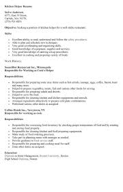 resume for restaurant kitchen help resume madeira restaurant kitchen helper resume example
