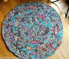 round rag rug hallway runner