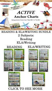 Anchor Charts For Reading Active Anchor Charts Reading And Ela Writing Bundle