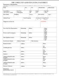 8 Medical Face Sheet Templates Word Pages Pdf Free