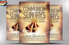 communion sundays flyer template on behance the communion sundays flyer template from flyerheroes are fully editable photoshop psds once you have ed this template using adobe photoshop cs4