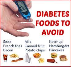 Diabetes Food Groups Chart