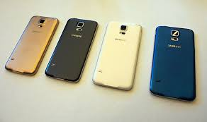 samsung galaxy s5 colors front and back. keempat warna s5 saat peluncuran. samsung galaxy colors front and back n