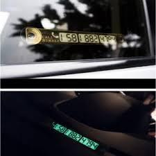 Лайфхак для автолюбителей - <b>табличка</b> для <b>номера телефона</b> с ...