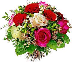 Gify kwiaty - róże na bloga i stronę