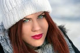 Dievča Zelené Oči Ryšavé Vlasy Fotografia Zdarma Na Pixabay