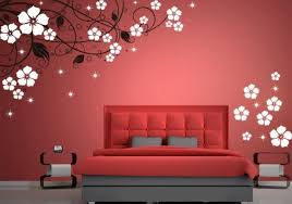 wall paint design 8 very attractive bedroom romantic for bedrooms