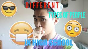 different types of people. different types of people f