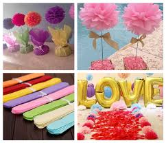 How To Make Flower Out Of Tissue Paper Ready Stock 30cm Diy Tissue Paper Flower Pom Poms Party Wedding Room Decoration