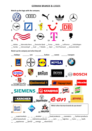 german brands and logos by anyholland teaching resources