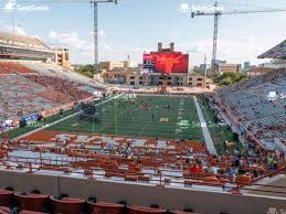 Texas Dkr Memorial Stadium Seating Chart Darrell K Royal Texas Memorial Stadium Section 19 Seat