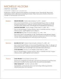 Resume Templates Free 12 Free Minimalist Professional Microsoft Docx