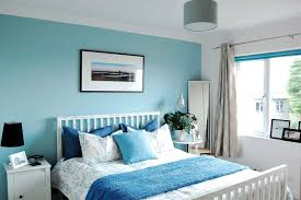 Light Blue Room Design Blue Bedroom By The Sea Blue Cushions Light Blue Bedroom