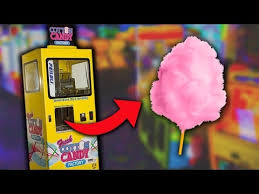 How To Get Free Candy From A Vending Machine Awesome I FOUND A COTTON CANDY VENDING MACHINE TobeHd