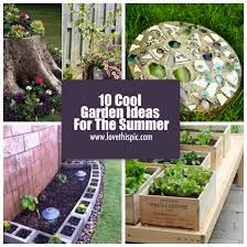 1. Don't throw away that old tree stump. Turn it into a cool, mini garden  instead