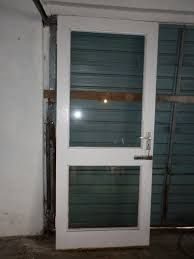 external door with 2 glass panels