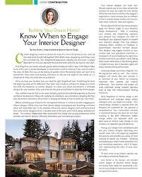 know when to ene your interior designer