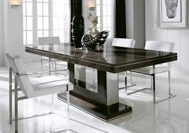 Metal And Wood Kitchen Table Dining Room Decorating Ideas Traditional Black Stained Wooden