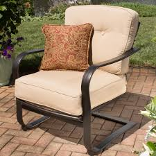 outdoor upholstered furniture. Agio Heritage Outdoor Alumicast Deep Seat Spring Chair With Traditional Trellis Design Upholstered Furniture N