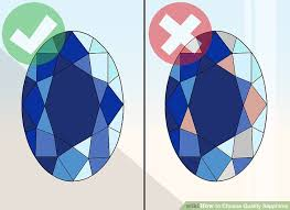 Sapphire Rating Chart 3 Ways To Choose Quality Sapphires Wikihow