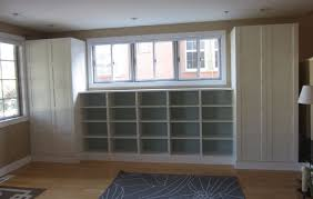 Premade Built In Bookcases Amazing Premade Built In Bookcases 11 With Additional White Ladder
