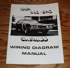1968 oldsmobile cutlass 442 f85 wiring diagram manual 68