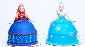 How To Make A Disney Princess Sisters Cake Nerdy Nummies Youtube