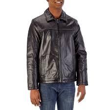 mens black leather hipster jacket