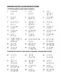 quadratic equations worksheet factoring and solving quadratic 528449