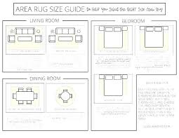 area rug size for living room rugs bedroom surprising guide bed s by all sizes standard