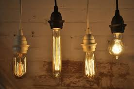 edison bulb battery operated chandelier incorporating vintage