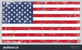 american template grunge usa flag american flag grunge texture vector stock vector