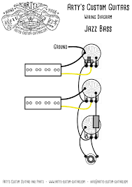 j bass balance pre wired kit jazz bass wiring harness assembly in arty s custom guitars vintage pre wired prewired kit wiring assembly harness artys precision jazz bass j bass p bass