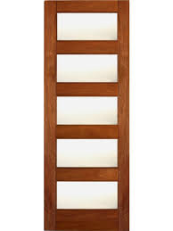 rb 02 interior mahogany contemporary lite matte glass single door by aaw interior