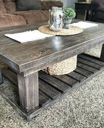farmhouse coffee table diy chunky farmhouse coffee table