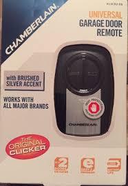 chamberlain universal garage door remoteChamberlain Klik3uss Clicker Garage Door Opener Remote Black and