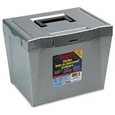 hanging file box. Pendaflex 20862 Portable Letter Size Hanging File Box, 13-7/8w X 10 Box I